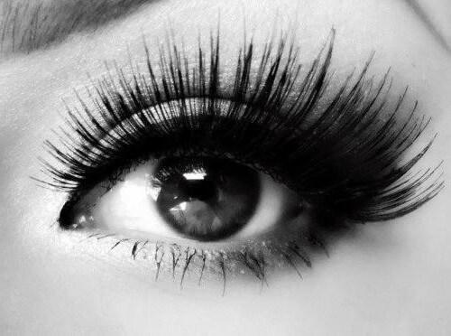 Fluffy eyelashes per month