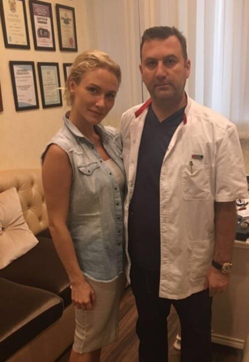пластический хирург Тигран Алексанян и его пациентка Екатерина Гордон