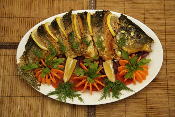 Блюда из запеченной рыбы рецепты с фото