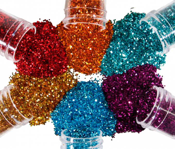 What is glitter and what is it used for?