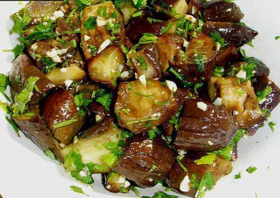Маринованные баклажаны с фото рецепт