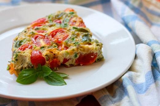 Рецепт овощной фриттаты
