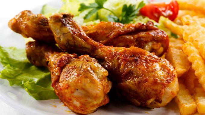 Курица в томатно-соевом с медом маринаде