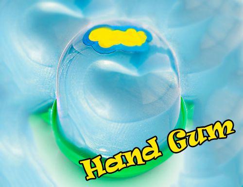 Как сделать лизун или жвачку для рук?