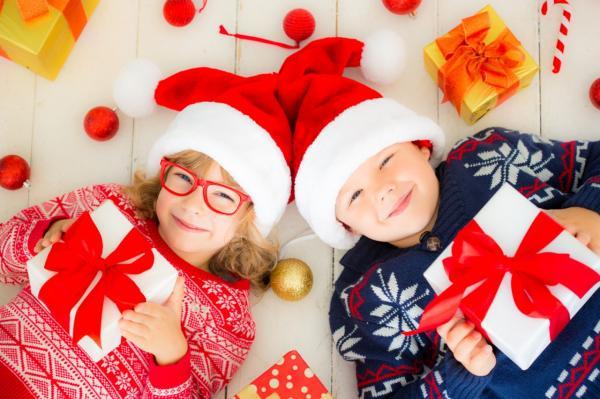 подарки детям к новому году