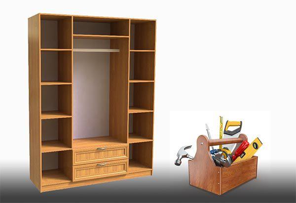 Как собрать шкаф