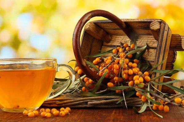 полезные свойства облепихи в чае