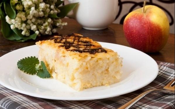 Как приготовить рисово-творожный пудинг?