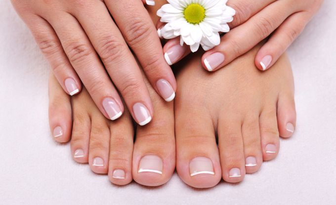How easy it is to make a pedicure at home