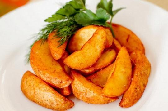 Как сделать картофель по-деревенски