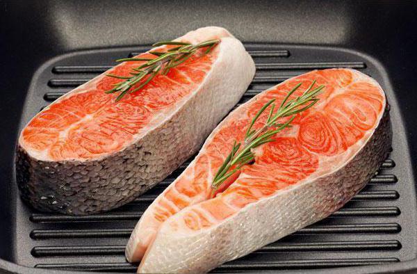 Как приготовить стейк форели