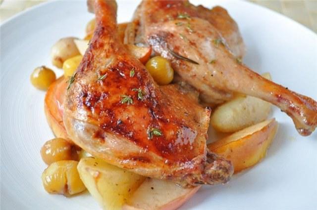 Как приготовить утку с картошкой в духовке