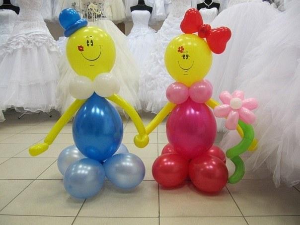 Как делать фигуры из воздушных шаров