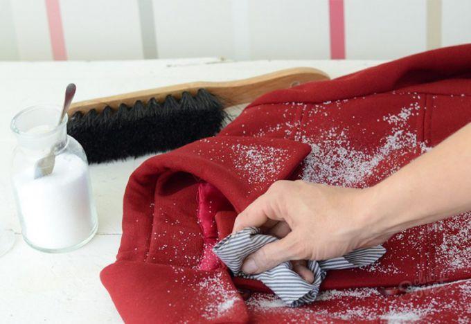 Как чистит пальто в домашних условиях 445