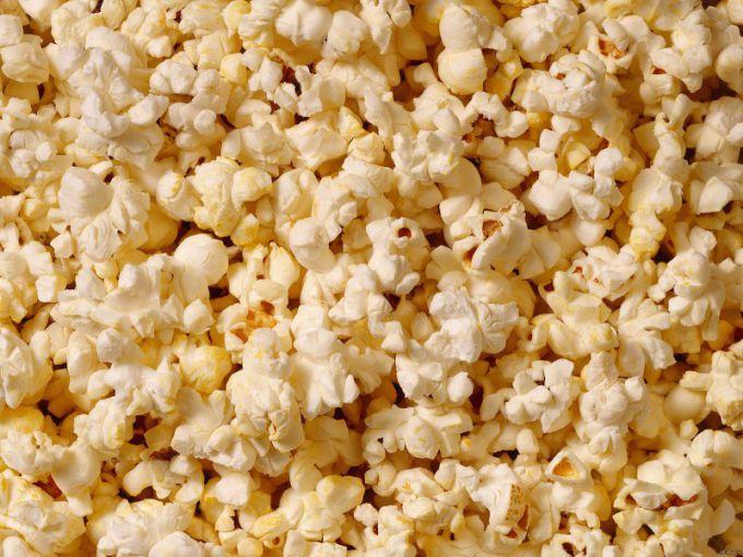 Как сделать попкорн соленый дома