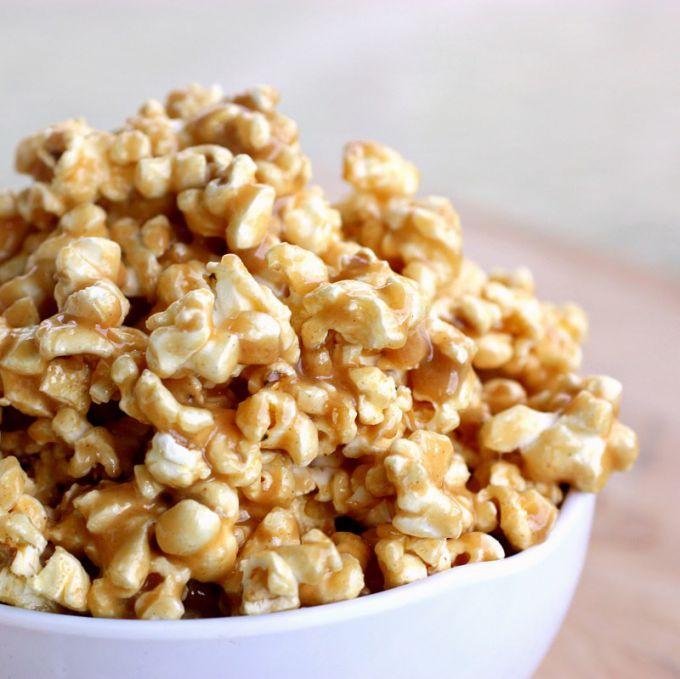 Как на сковородке сделать попкорн в