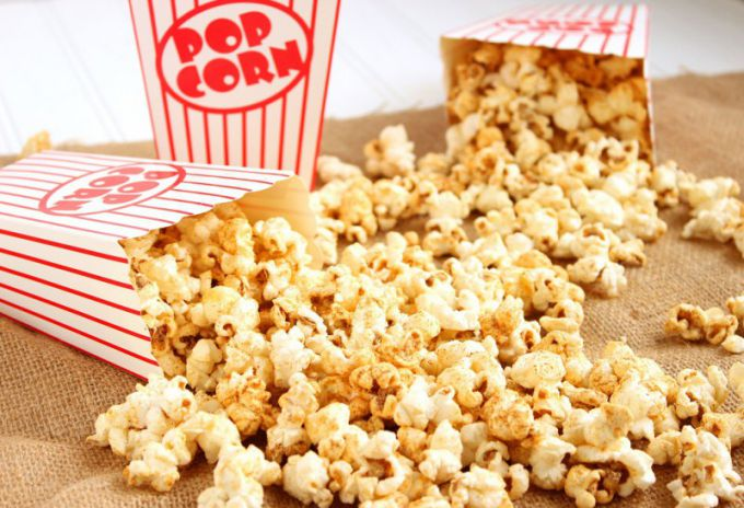 Popcorn can be made at home, it will be even tastier