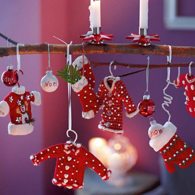 Новогоднее настроение создают интерьерные мелочи