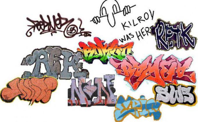 Как нарисовать граффити карандашом