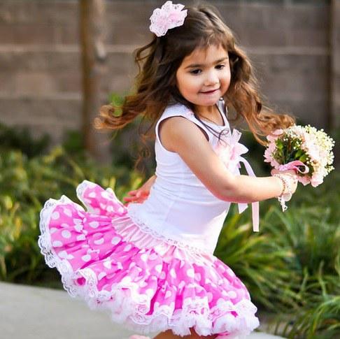 Как сшить пышную юбку для девчонки