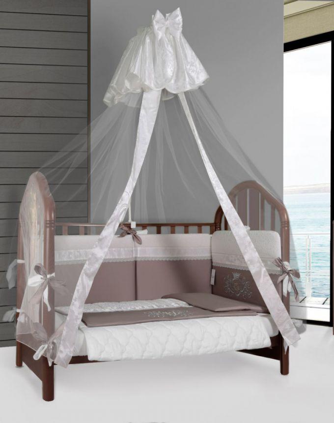 Как сделать балдахин на детскую кроватку