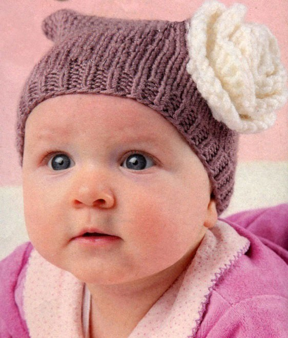 How to knit a hat for a newborn
