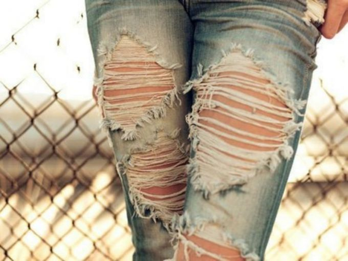 How to break up nicely jeans