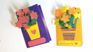 How to make a card on grandma's birthday with your own hands
