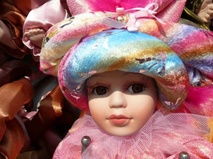 Как сделать куклу из глины