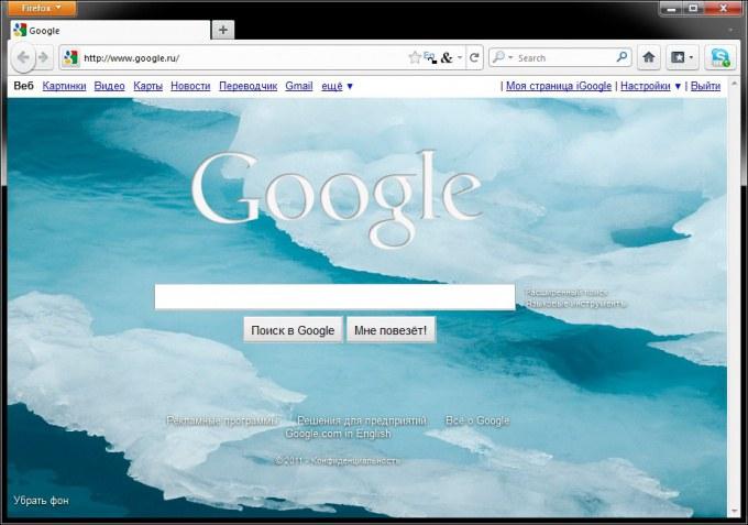 Как сделать google стартовой страницей