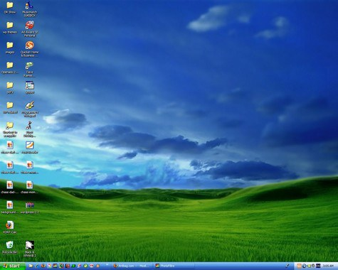 The user's desktop