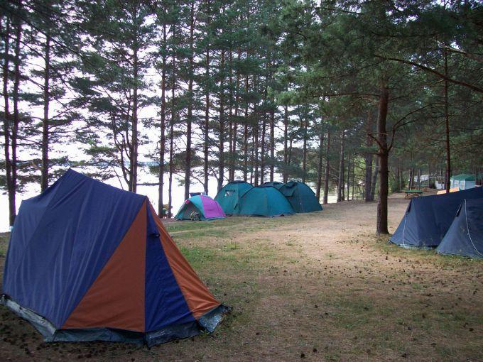 Как починить палатку?