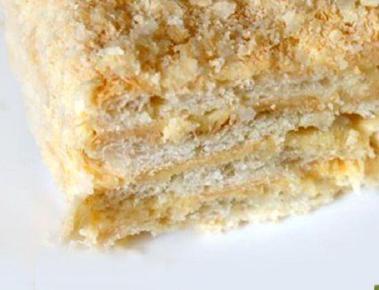 """Как просто приготовить вкусный торт """"Наполеон"""""""