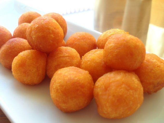 картофельные шарики из пюре в мультиварке рецепт с фото