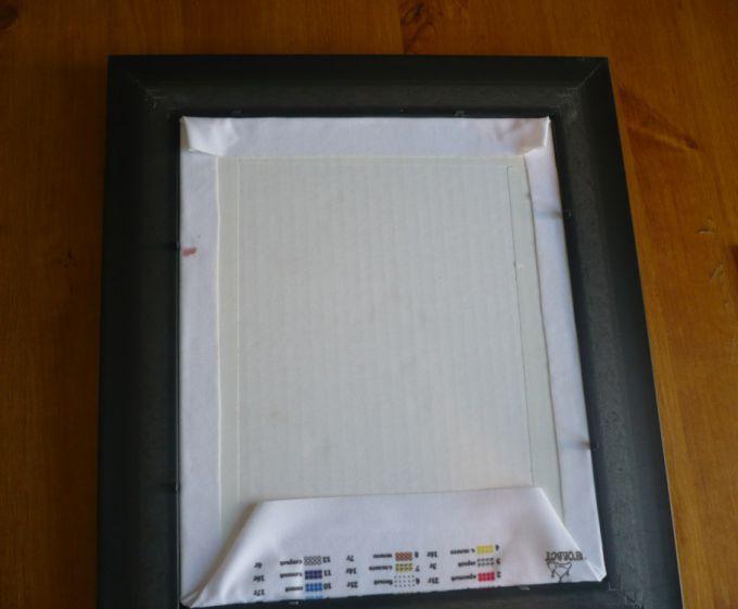 Как оформить вышитую икону в рамку