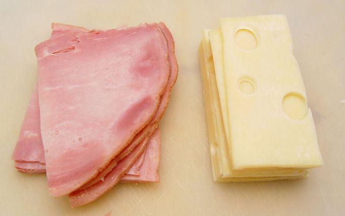 ветчина и сыр