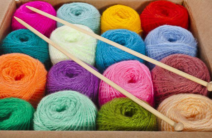 нитки для вязания магазин дешево