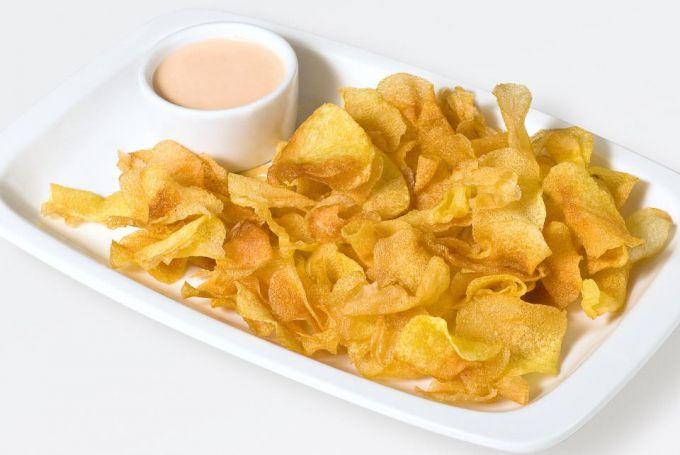 Как приготовить чипсы в микроволновке без масла