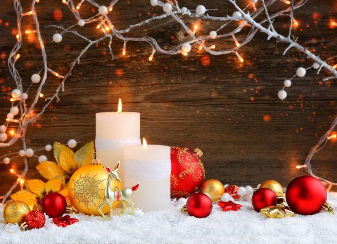 """Как """"подать"""" свечи  на новогодний стол: три простые и эффектные идеи"""