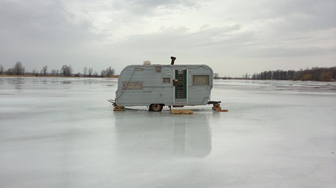 Как сделать палатку для зимней рыбалки
