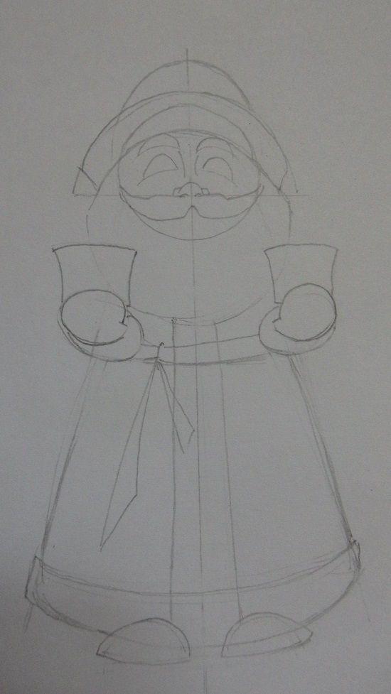 Орнамент на шубу 3 класс нарисовать