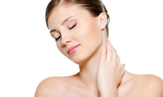 How to whiten the skin of the neck at home