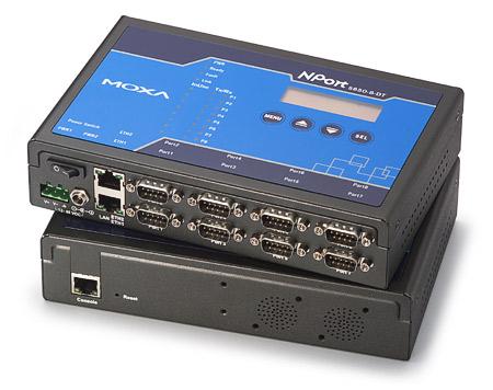Сервер последовательных портов MOXA NPort 5650i-8-DT
