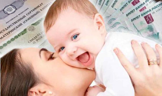 maternity capital 2016