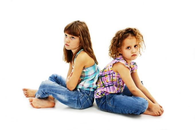 причины детских ссор
