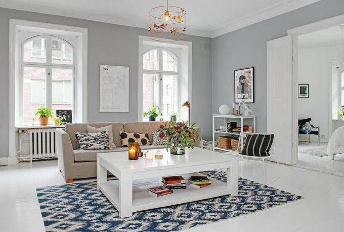 Скандинавский стиль в гороской квартире