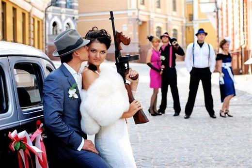 Выкуп невесты в стиле мафия