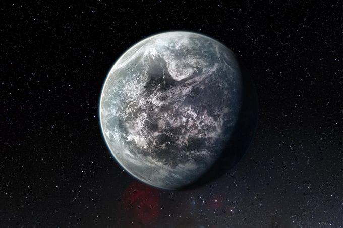 Предполагаемый облик экзопланеты