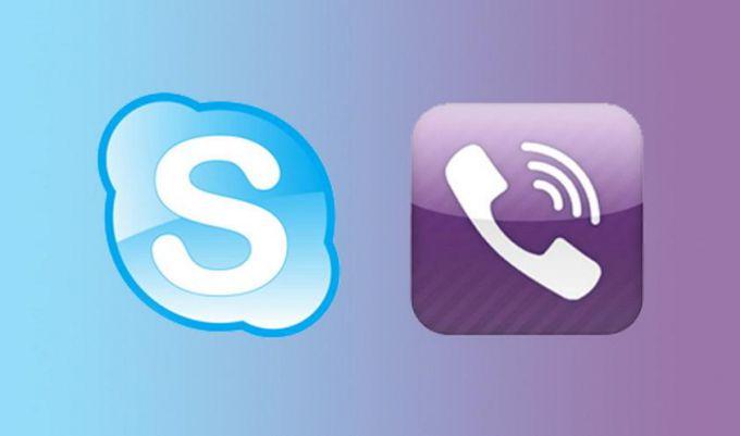 Что установить - Skype или Viber?