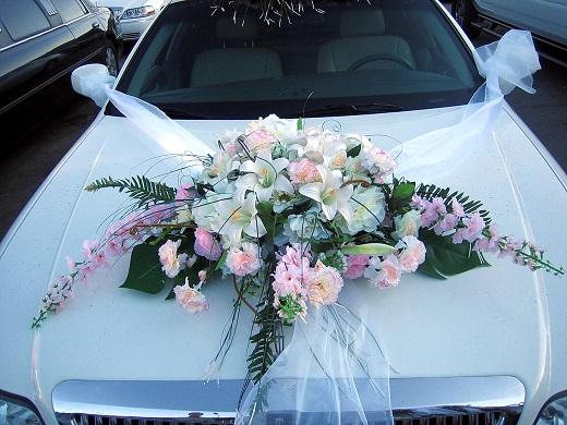 Украшение машины на свадьбу своими руками